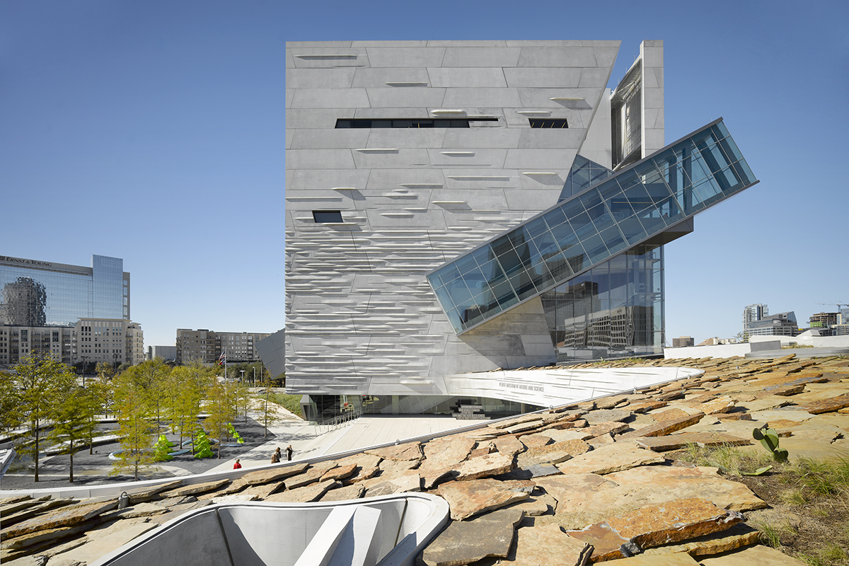 Perot Museum Of Nature Science Architect Magazine