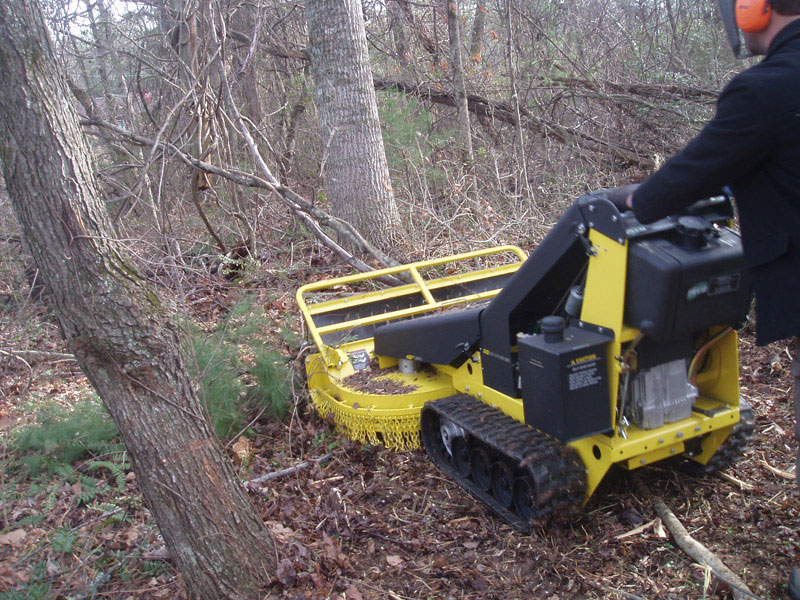 Mid Size Brush Cutter From Peco Public Works Magazine
