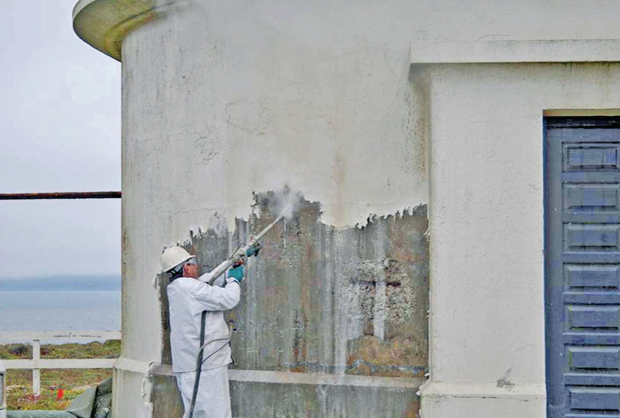 Preserving The Historic Point Arena Lighthouse Concrete