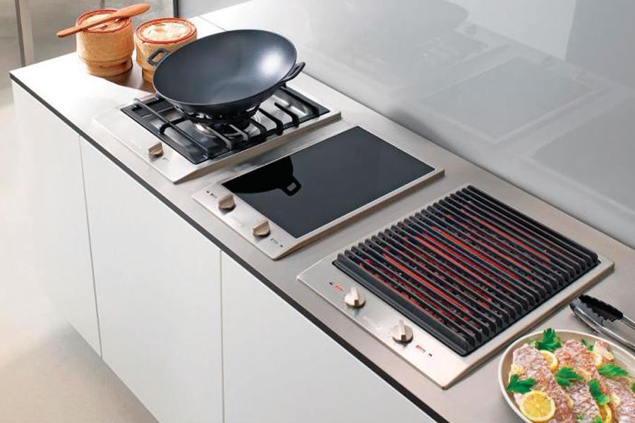 Combiset Indoor Grill By Miele Custom Home Magazine