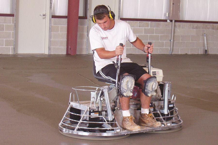 Mbw Small Riding Trowel Concrete Construction Magazine