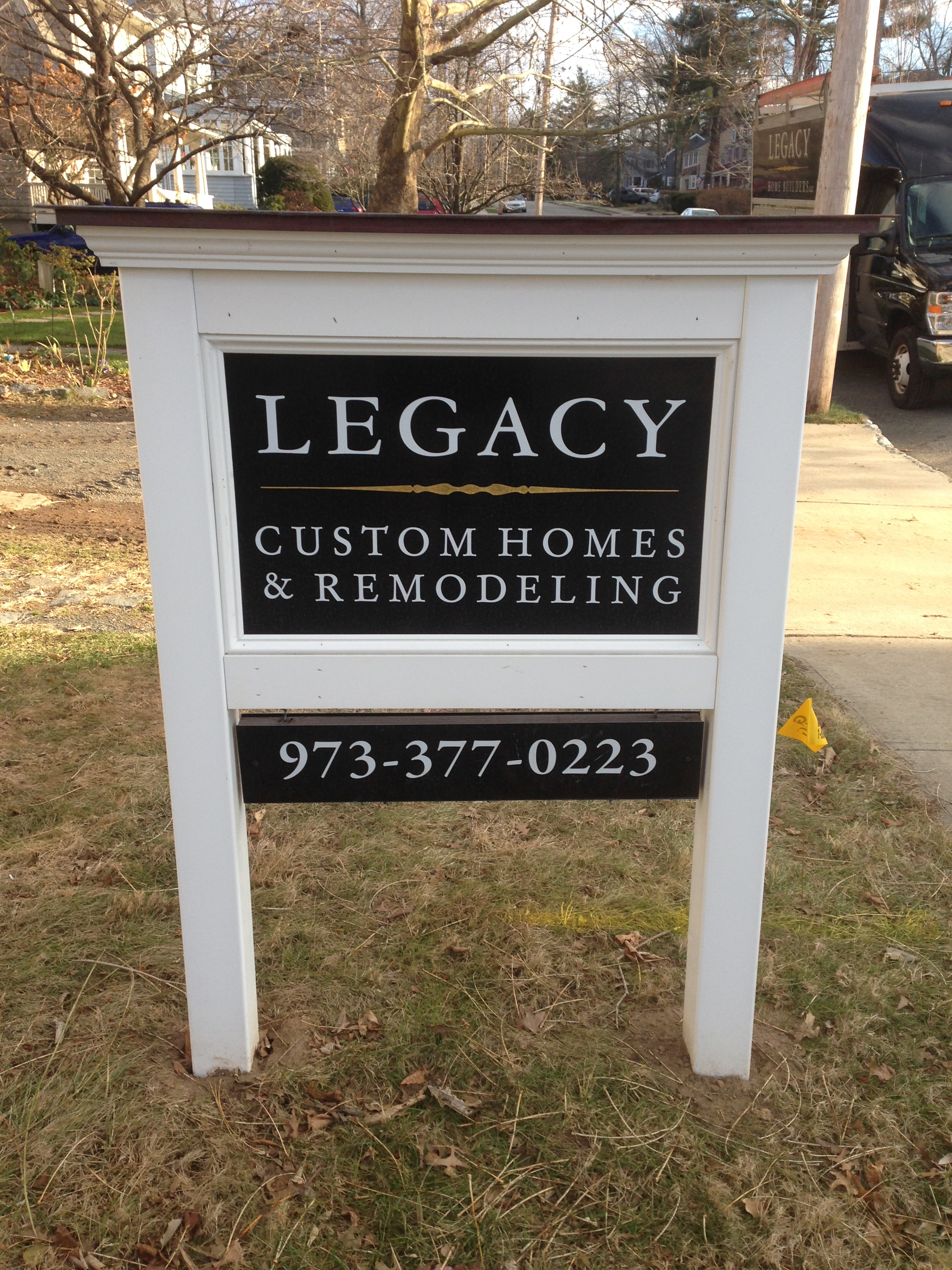 Sturdy signs remodeling for Home builder contractors