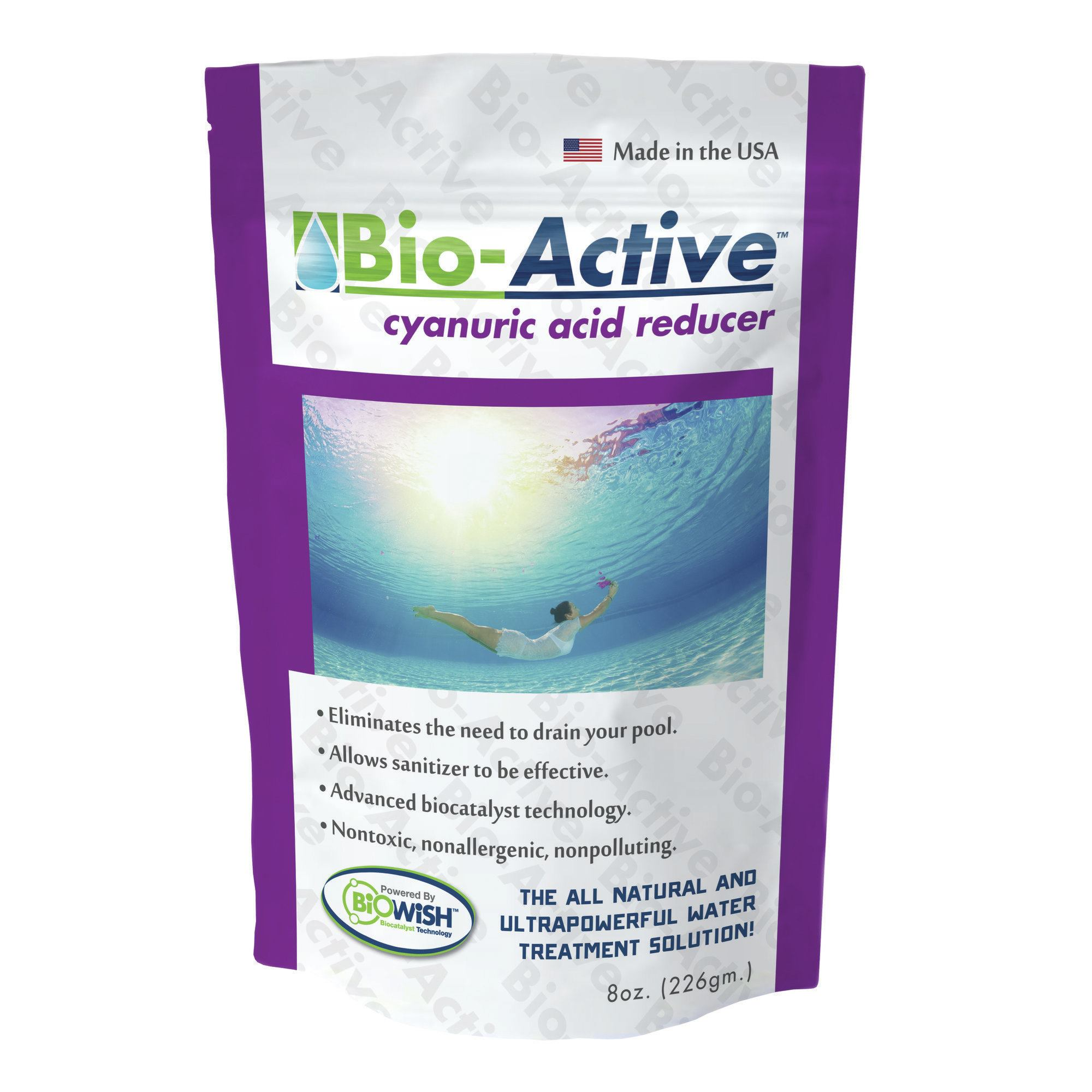 Bio active products pool spa news products pools for Active salon supplies