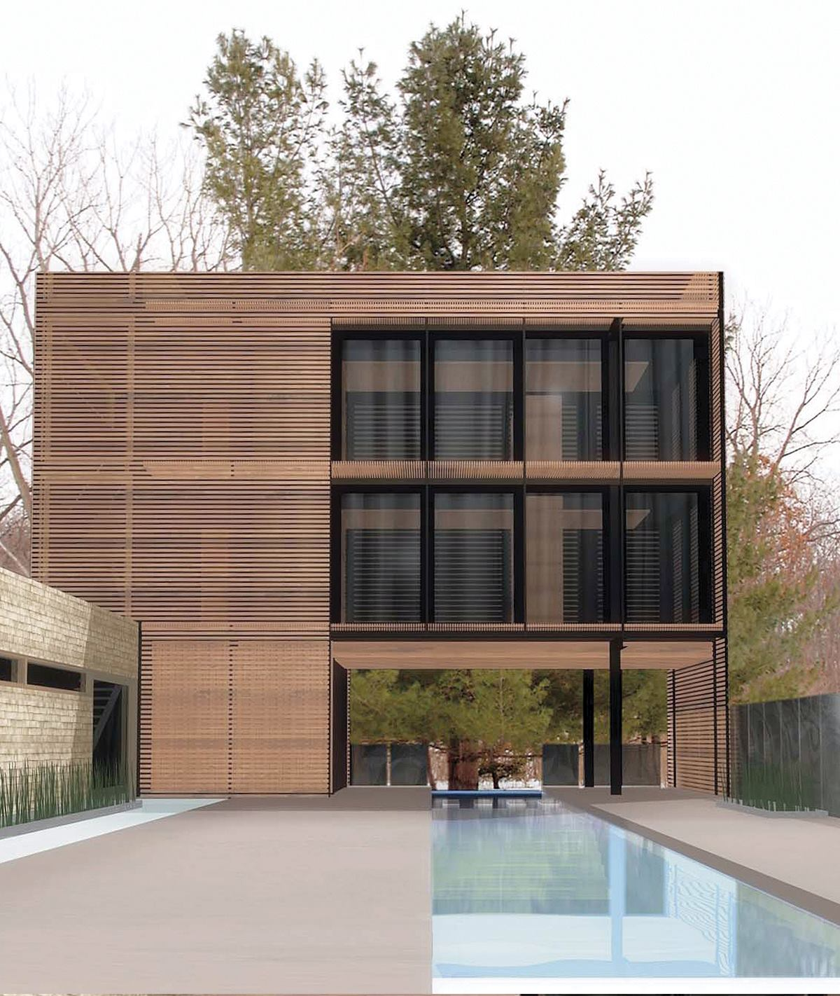 Moen Pool And Guesthouse Des Moines Iowa Residential Architect Architects Award Winners Des Moines West Des Moines Ia Kirk Blunck Herbert Lewis