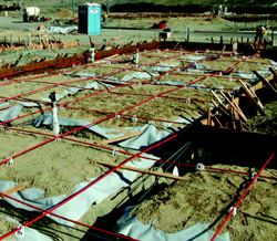 Post Tensioned Slab On Ground Foundations Concrete