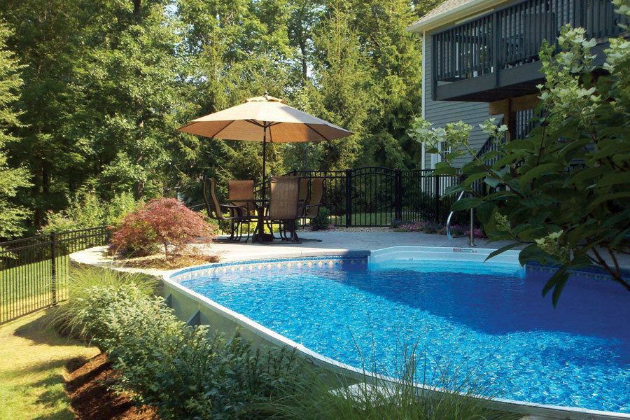 Aboveground and amazing pool spa news pools business Above ground pool installation ideas