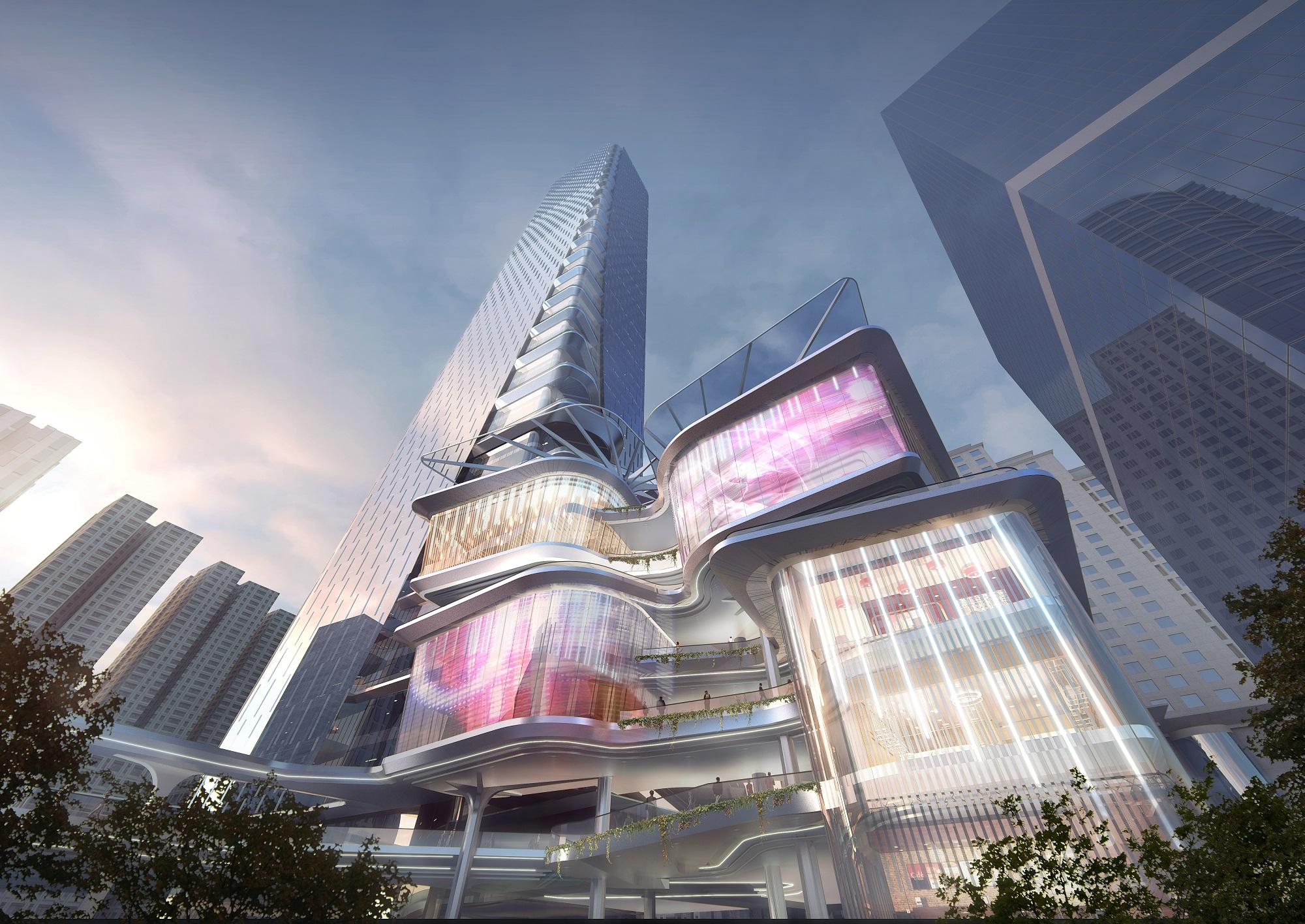 Shenzhen Luohu Friendship Trading Centre Architect