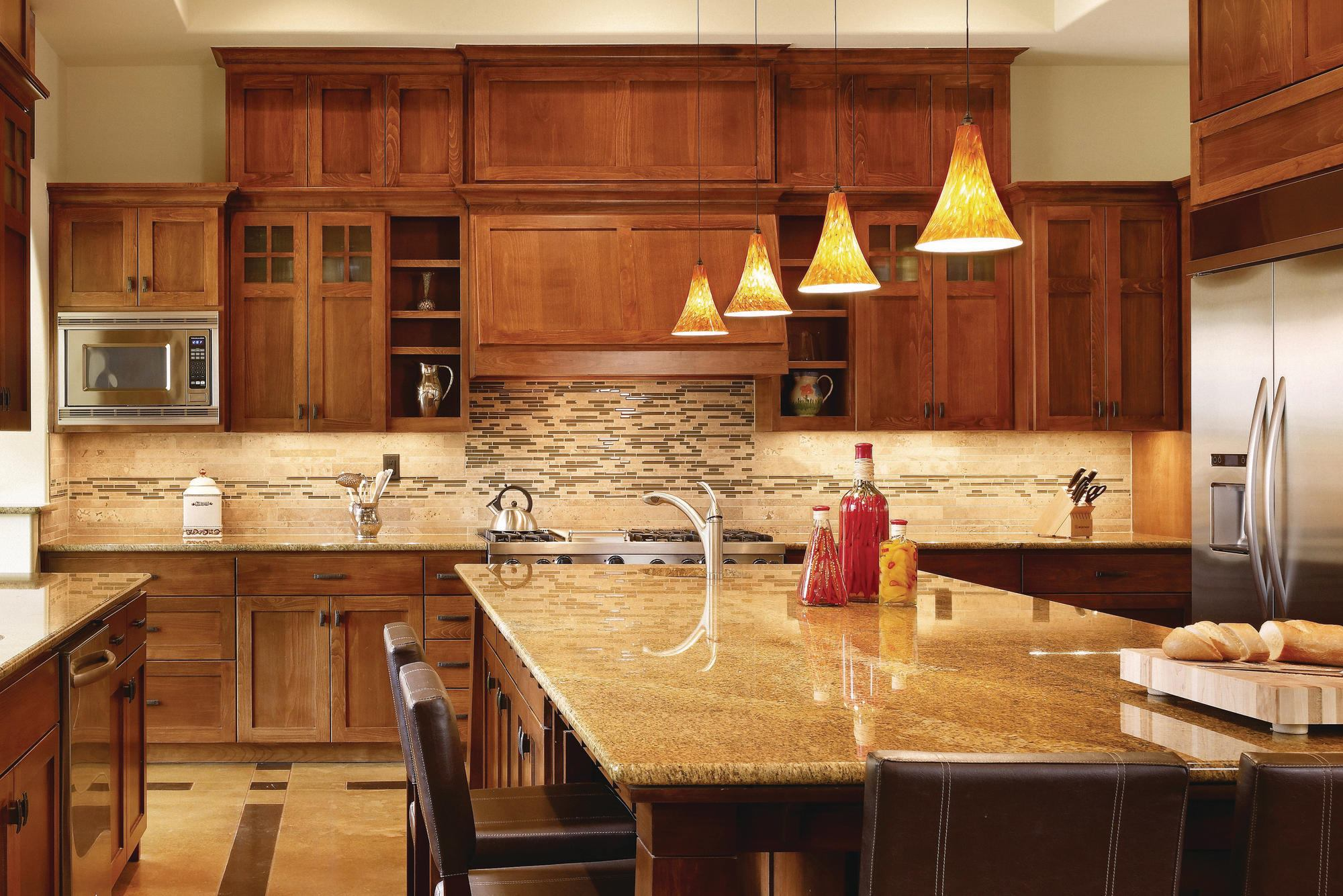 Rocky river kitchen wins watermark award custom home for Kitchen remodeling round rock