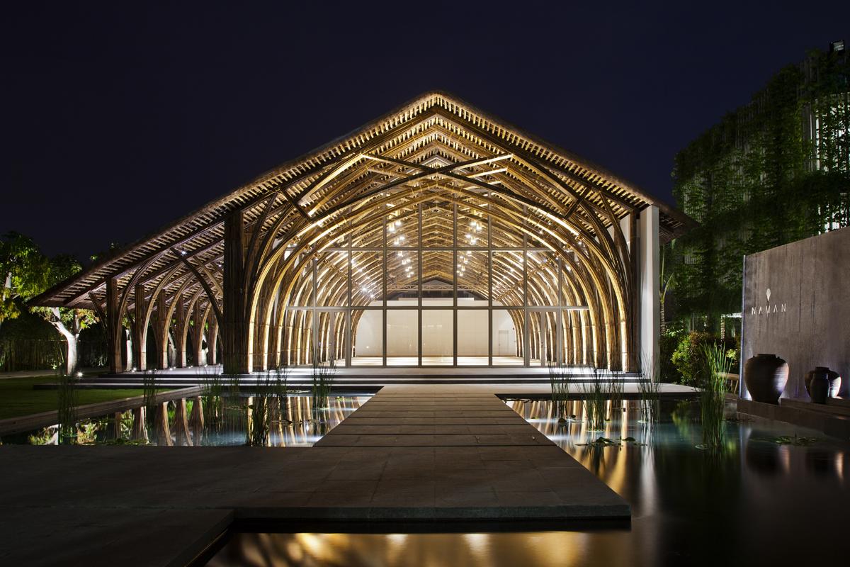 Naman Retreat Conference Hall Architect Magazine Vo