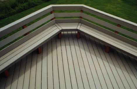 Benches Built For Comfort | Professional Deck Builder | Design, Options And  Upgrades, Fencing And Railing
