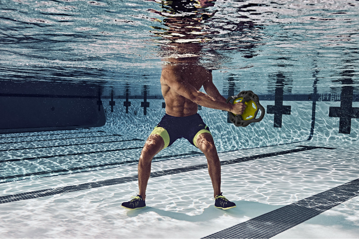 This Water Workout Is Not For The Weak Aquatics International Magazine Health And Fitness