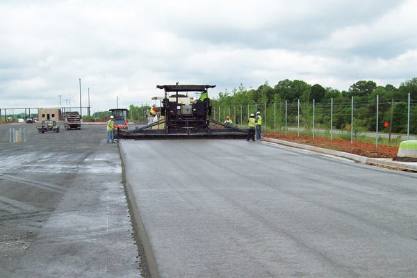 Roller Compacted Concrete Morgan Corp : Roller compacted concrete the next paving alternative