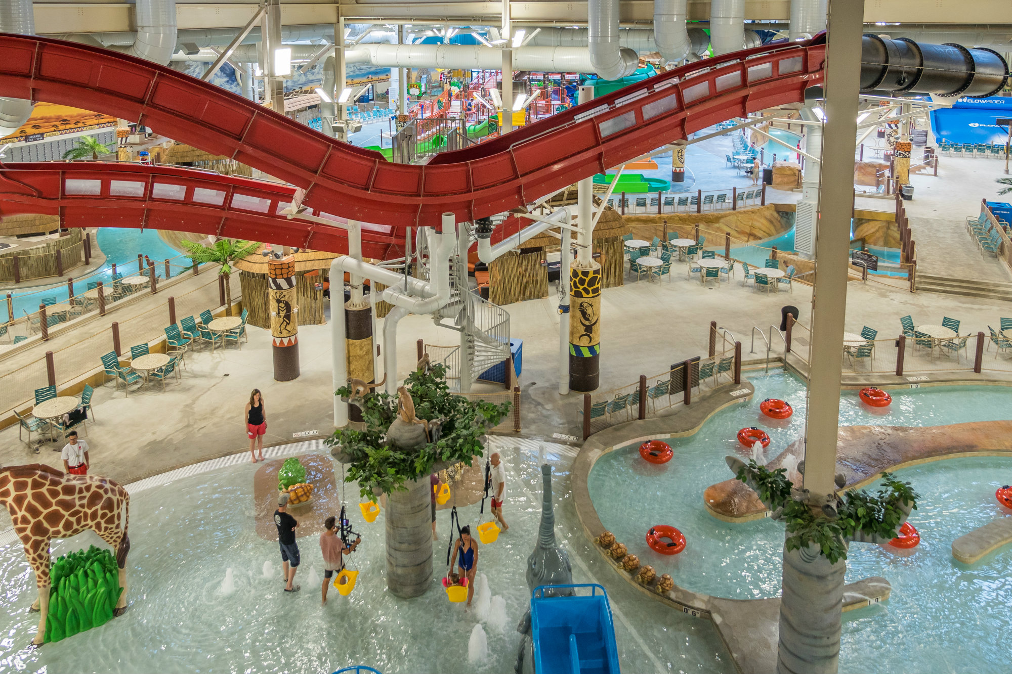 Kalahari Resorts And Conventions Opens Largest Waterpark