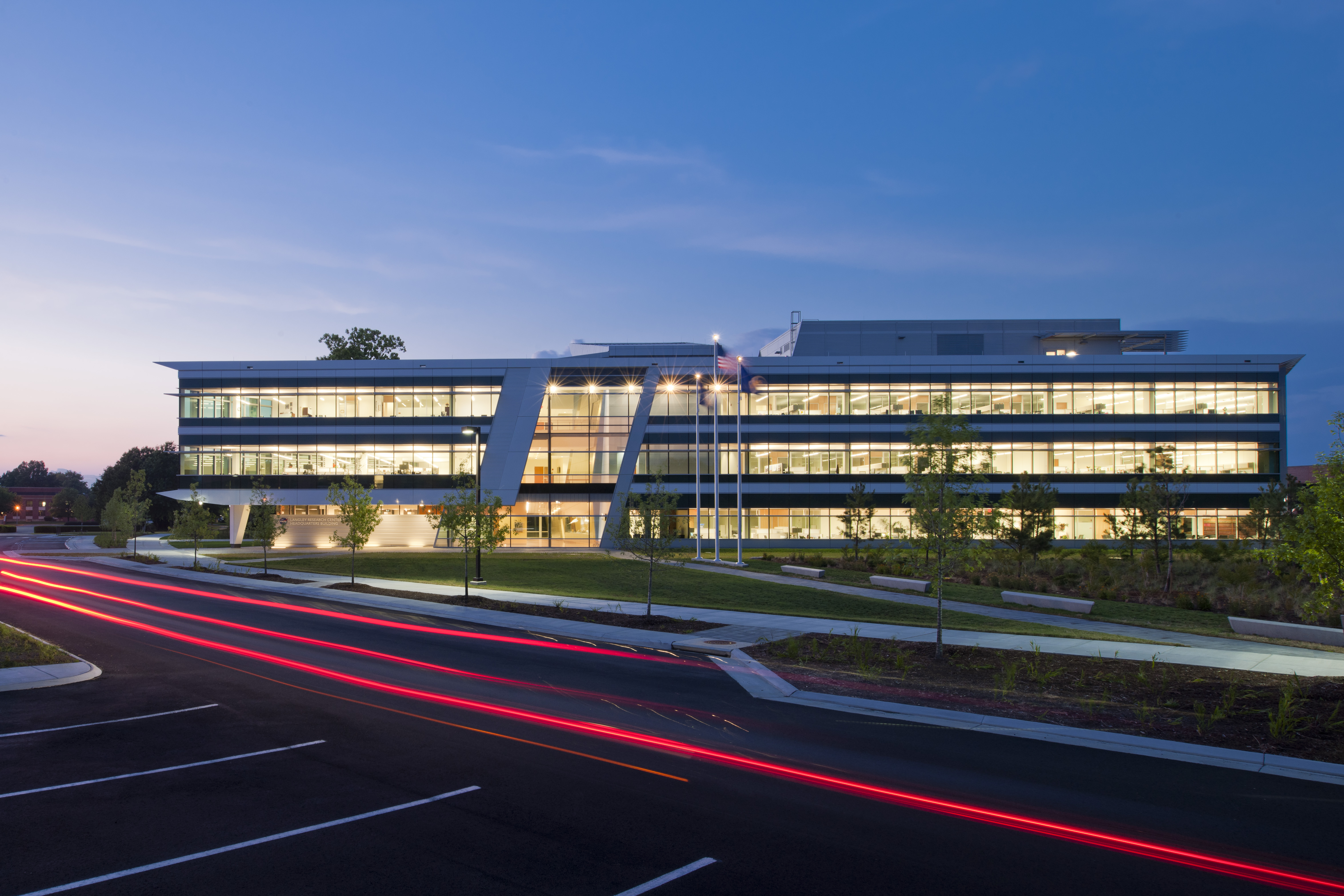Nasa Langley Research Center Headquarters Architect