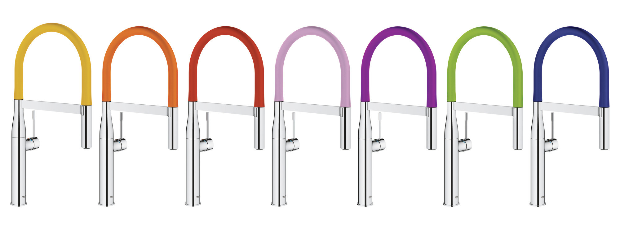 grohe launches colorful faucet collection builder. Black Bedroom Furniture Sets. Home Design Ideas