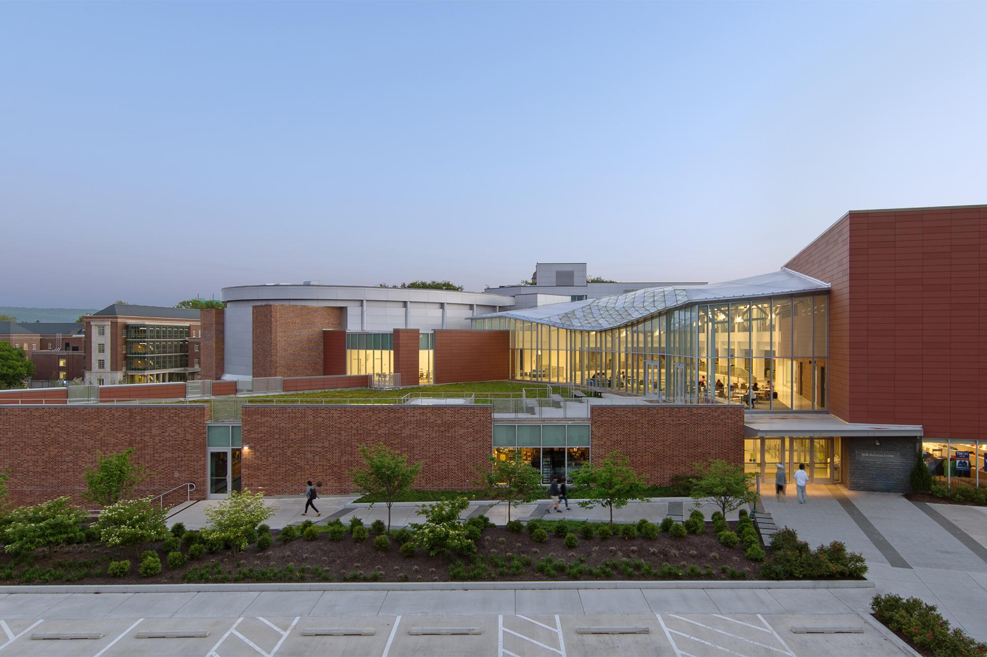 Hetzel Union Building Hub Robeson Center Residential