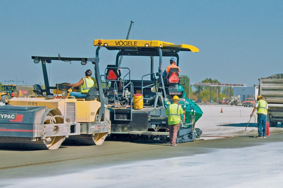 Roller Compacted Concrete Mix Designs : The ins and outs of rcc concrete construction magazine