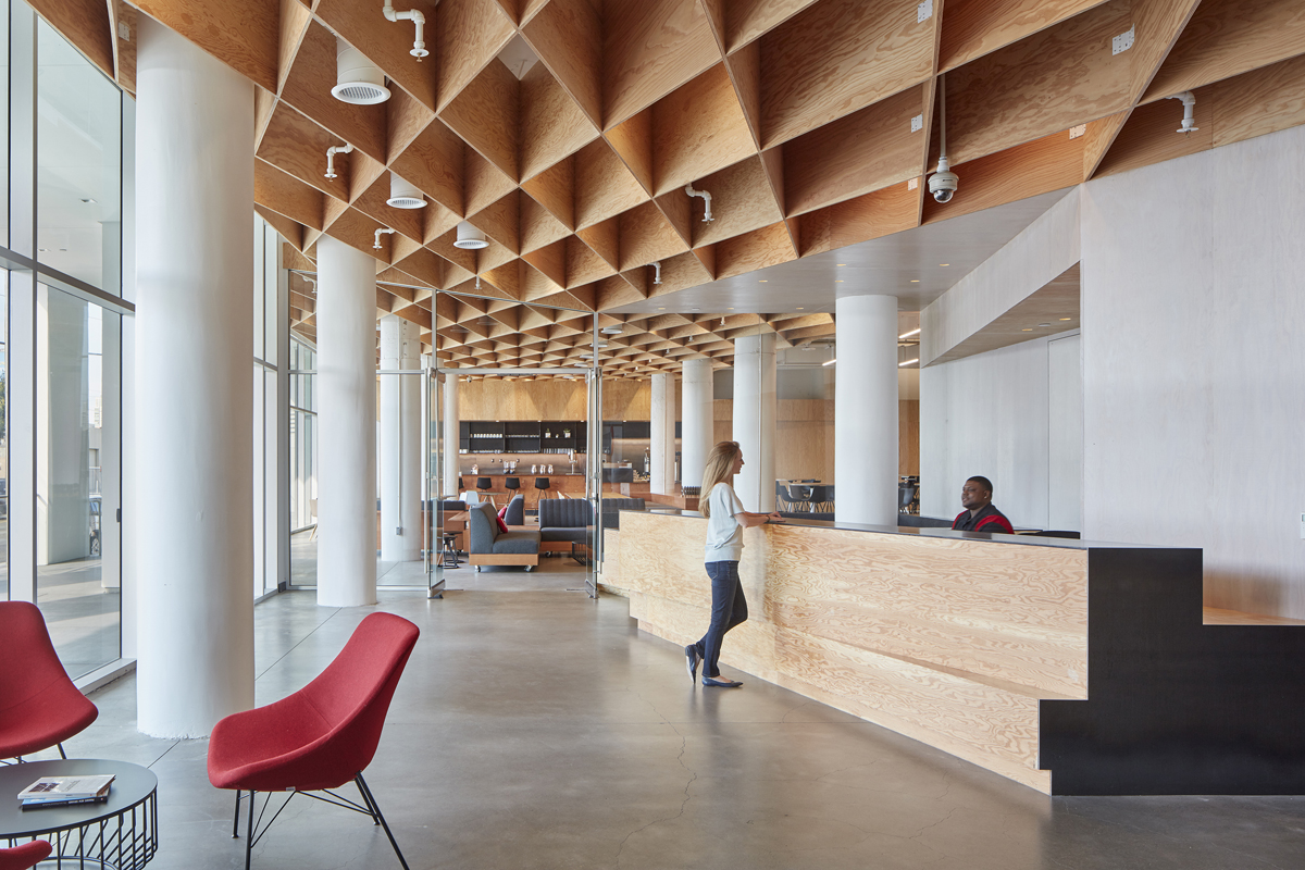 Architecture Interior Design Furniture: Pinterest Headquarters