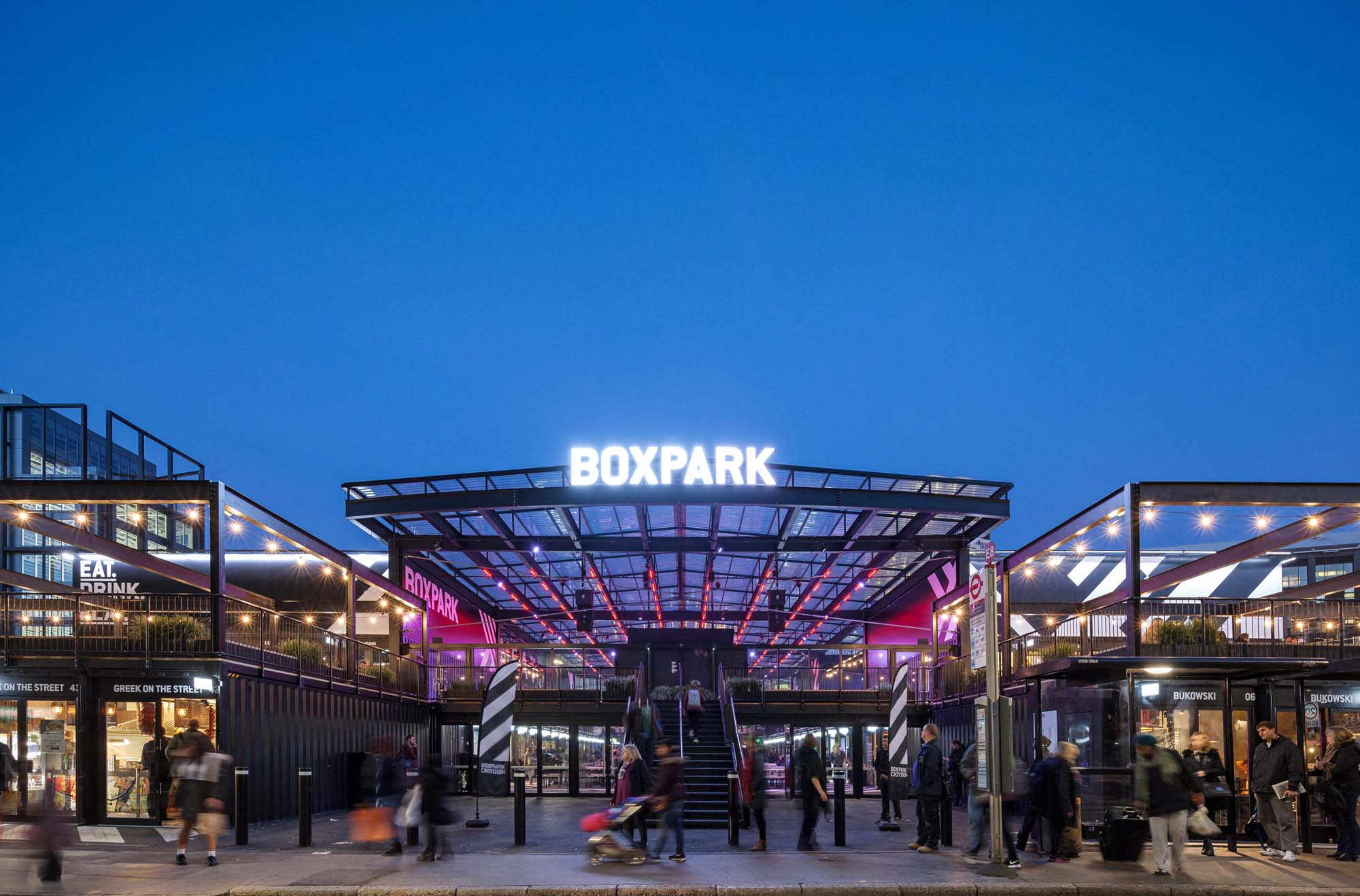Boxpark Croydon Architect Magazine Bdp London Mixed