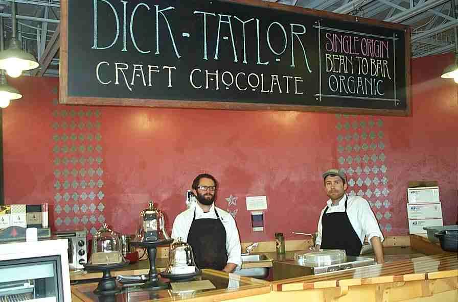 Chocolate Factory Is Born Inside California Lumber Yard