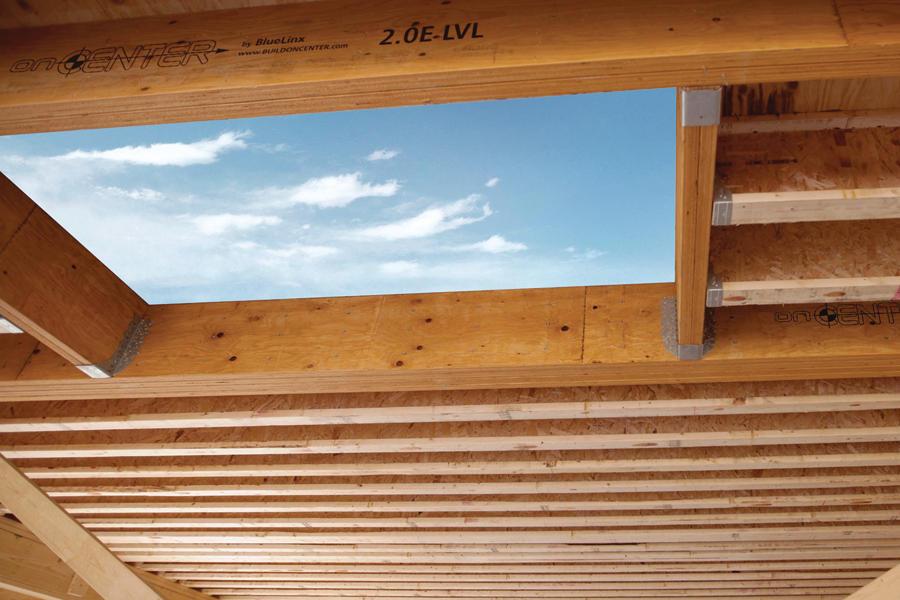 Bluelinx Oncenter Engineered Structural Supports