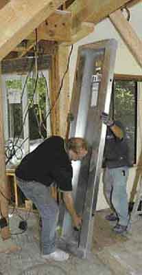 Retrofitting An Engineered Shear Panel Jlc Online Framing Panels Modular Building