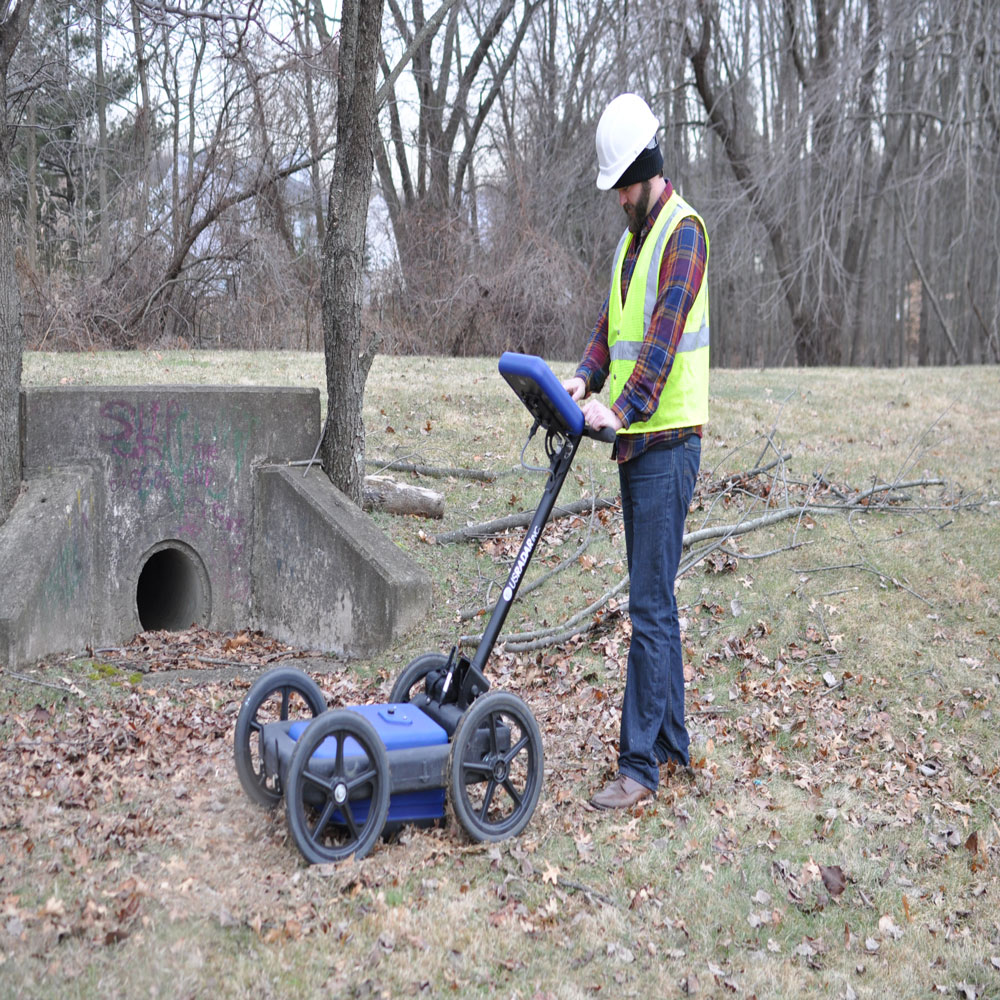 Q5 Series Ground Penetrating Radar Concrete Construction
