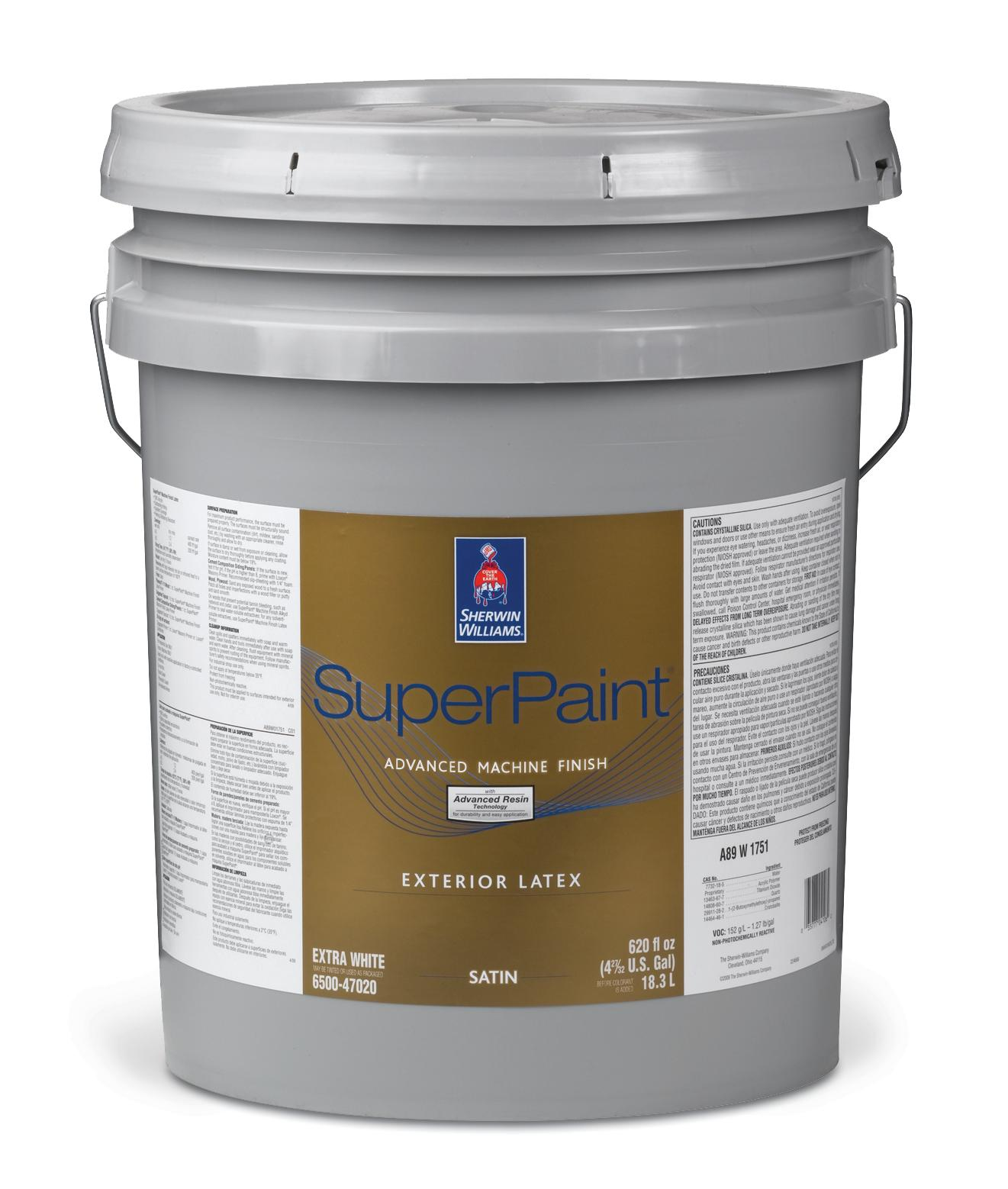 Sherwin Williams Superpaint Advanced Machine Finish