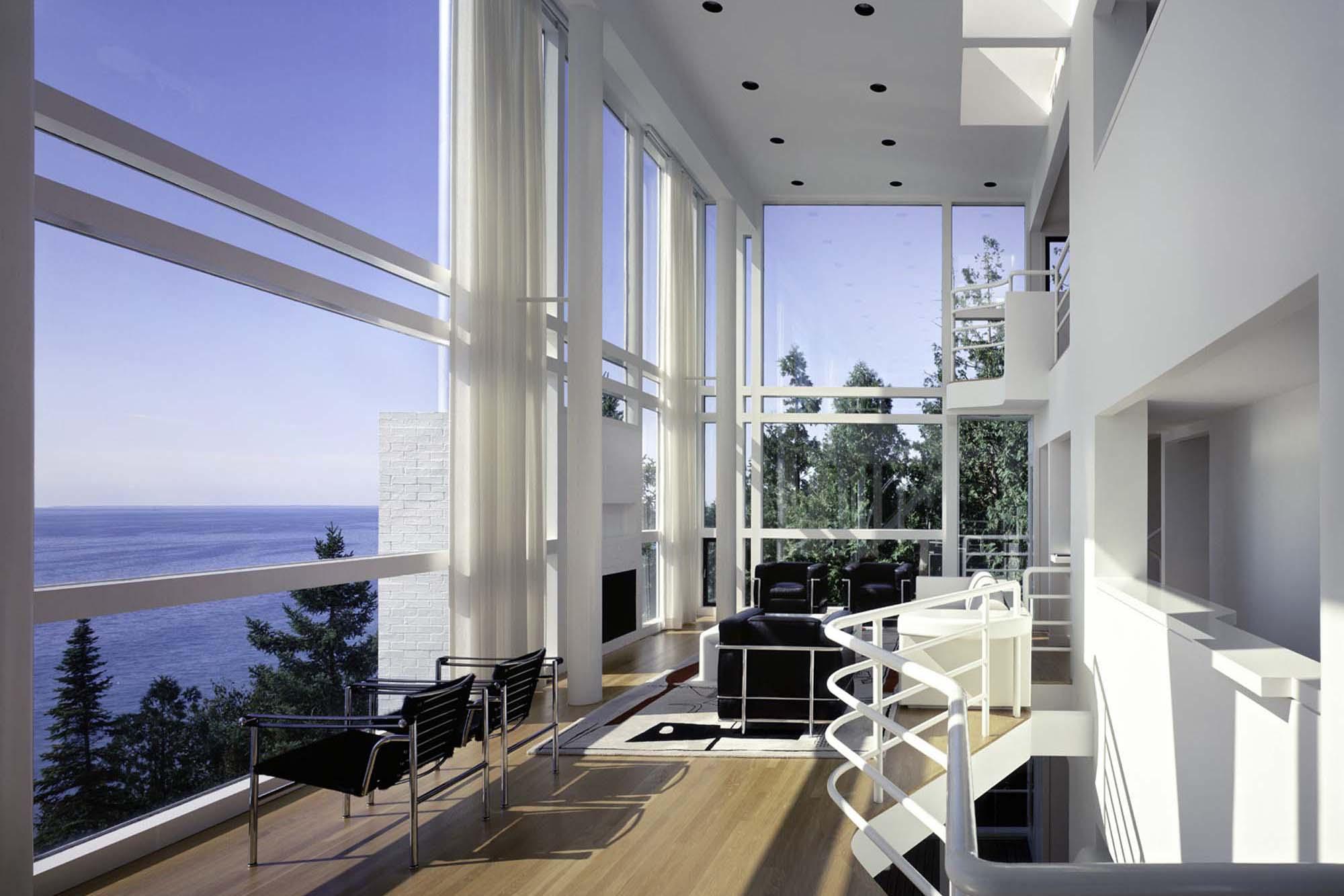 Mezzanine House Design Interiors