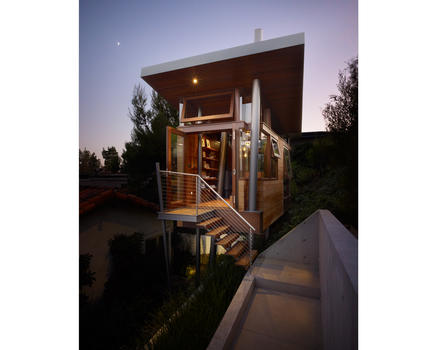 Banyan drive treehouse residential architect for Residential architect design awards