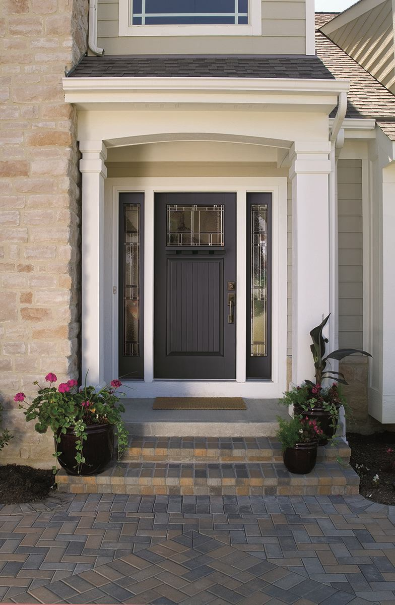 Therma tru 2014 entry door color trends builder magazine for Outer doors for homes