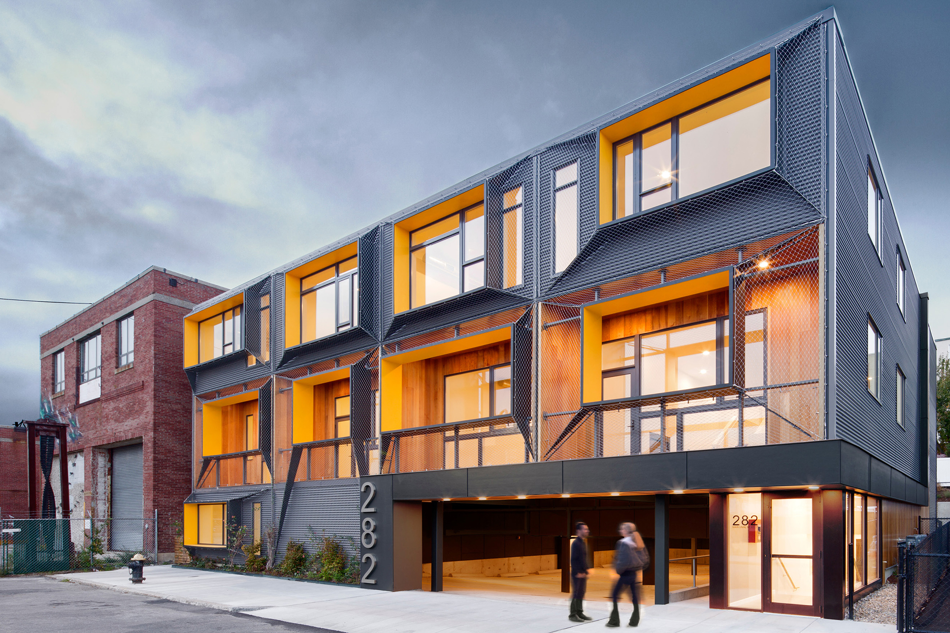 Marginal street lofts residential architect merge for Residential architect