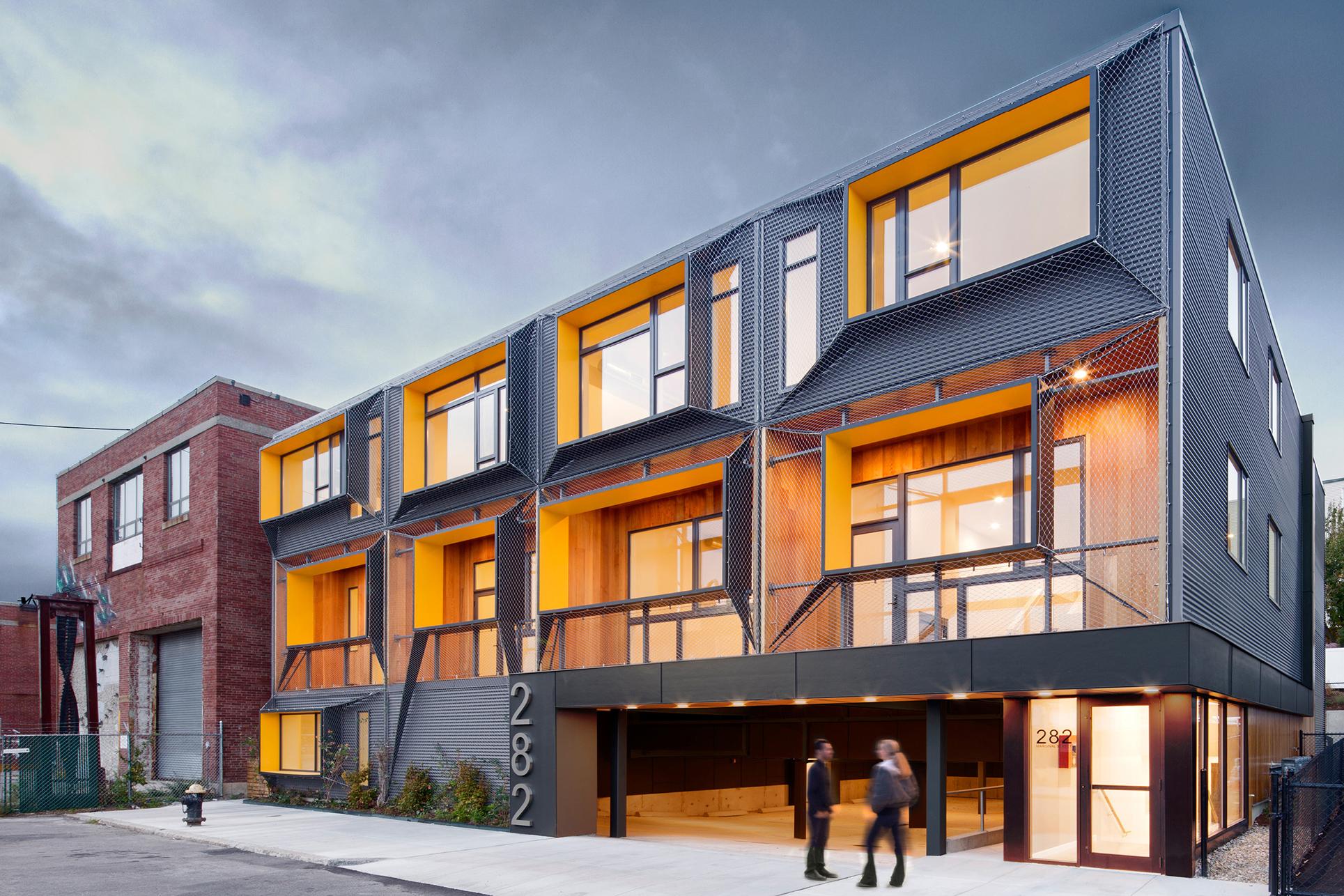 marginal street lofts residential architect merge architects east boston massachusetts. Black Bedroom Furniture Sets. Home Design Ideas