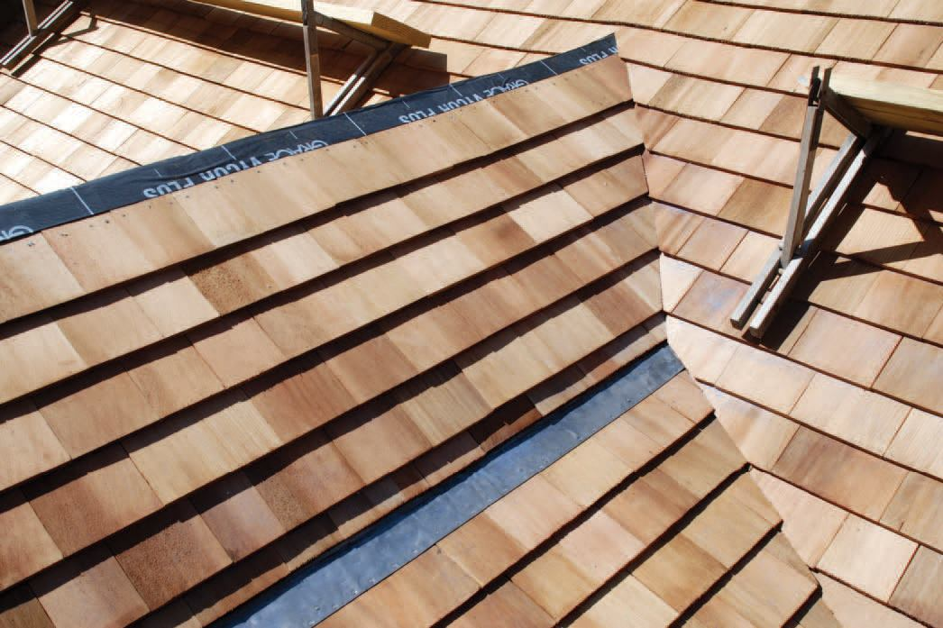 Weaving A Cedar Roof Valley Jlc Online Roofing