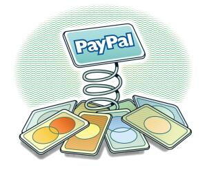 PayPal allows merchants to include a button on their website that takes clients to the PayPal site to make their payment.