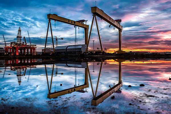 """Perfect Symmetry"". Belfast, Northern Ireland. Shortlist: Panoramic, Open."