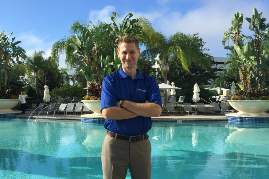 Rising stars of the pool and spa industry ted lawrence for Pool and spa show 2016