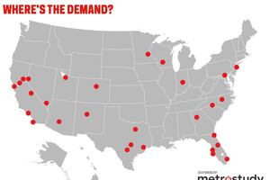 Where in the U.S. is New Home and Lot Demand Peaking?