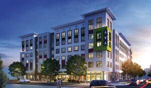 A rendering of AvalonBay's AVA H Street.