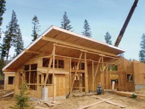 Structural insulated panels from Premier Building Systems can help cut costs. Pricing compared with on-site stick framing, however, depends on many factors.