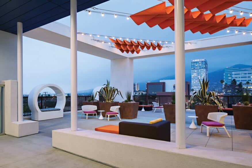 Another popular age-neutral amenity across the AMLI portfolio are rooftop patios.