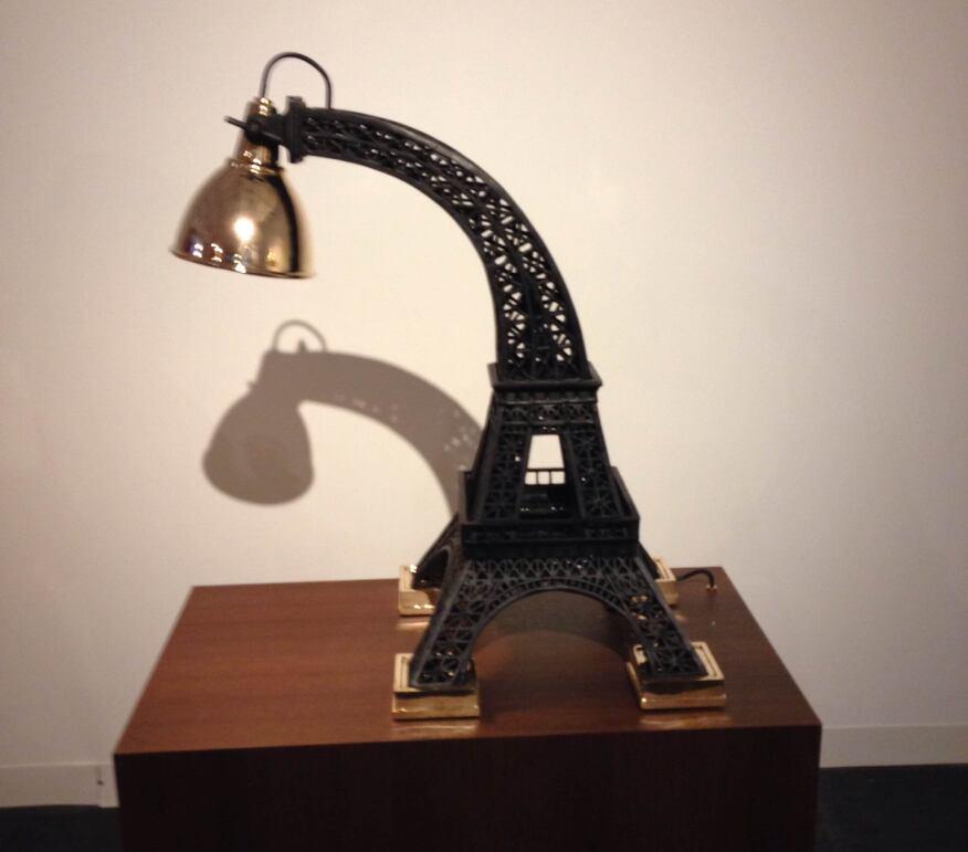 Studio Job lamp at the Carpenter Workshop Gallery.