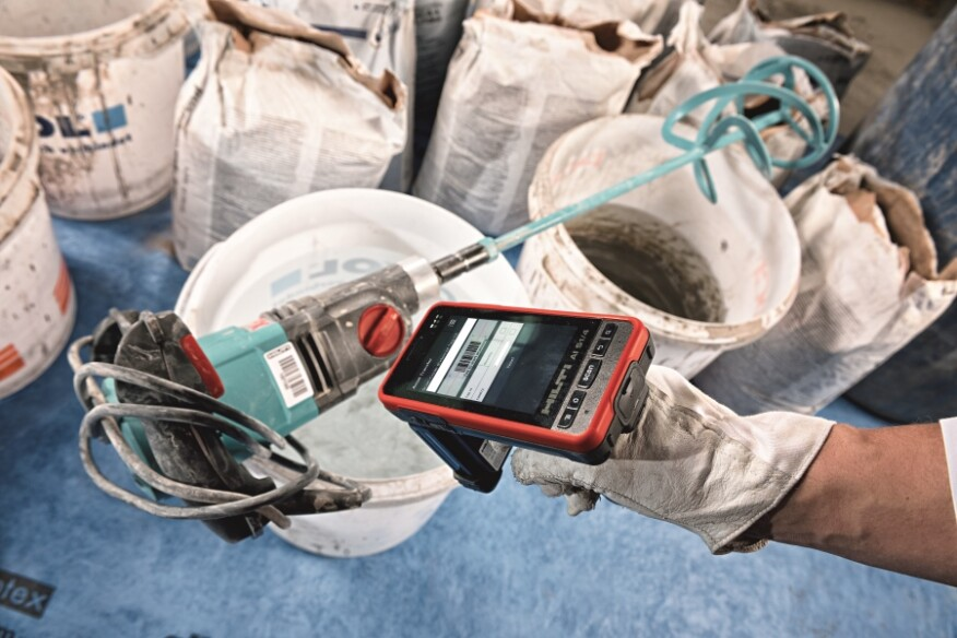 Tools are tracked and a foreman or worker is assigned responsibility.