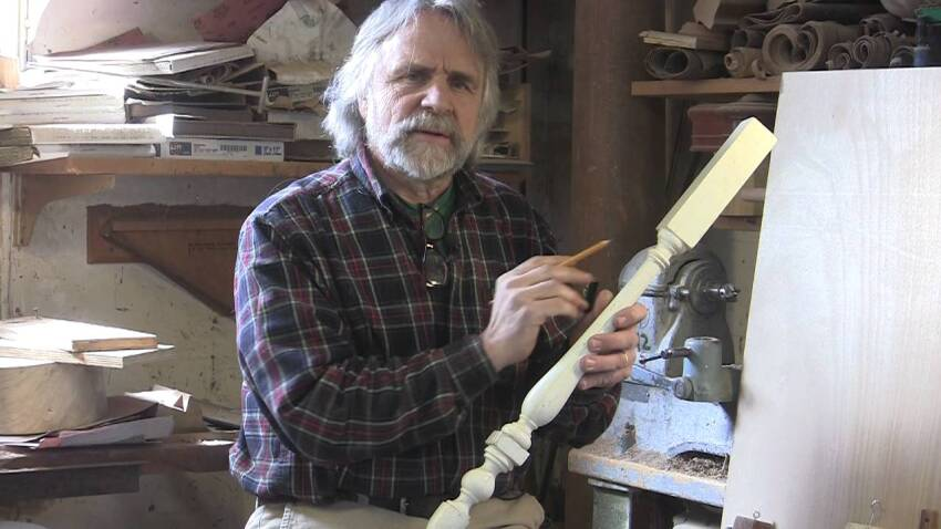 Turning Stair Balusters