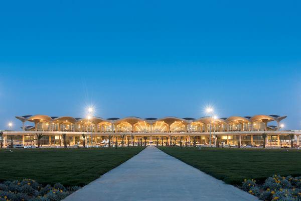 Queen Alia International Airport, Amman, Jordan.