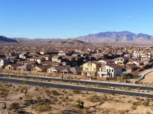 HALFWAY THERE: About half of the 14,500 homes that will be built at Mountain's Edge are completed. And builders have been scrambling recently to acquire what little land is still available at this master planned community.