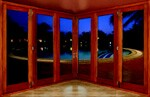Panels on some sliding or folding doors can reach 10 feet tall with varying  widths.