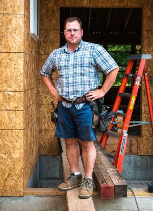Duluth Trading F.O.M Short Sleeve Pattern Hemp Shirt and Dry on the Fly Shorts
