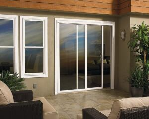 Outdoors In  If you have balconies or patios in your developments, Integrity's All Ultrex Sliding Patio Doors may be for you.