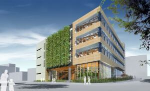 The Centre for Interactive Research Sustainability at the University of British Columbia in Vancouver, British Columbia, designed by Busby Perkins+Will, is seeking to meet the targets of the Living Building Challenge.